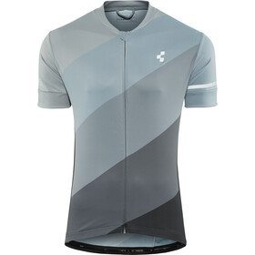 Cube Tour Maglietta con zip intera Uomo, grey pattern